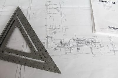 Architecture Billings Index blueprint
