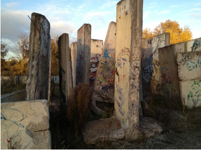 Berlin Wall slabs