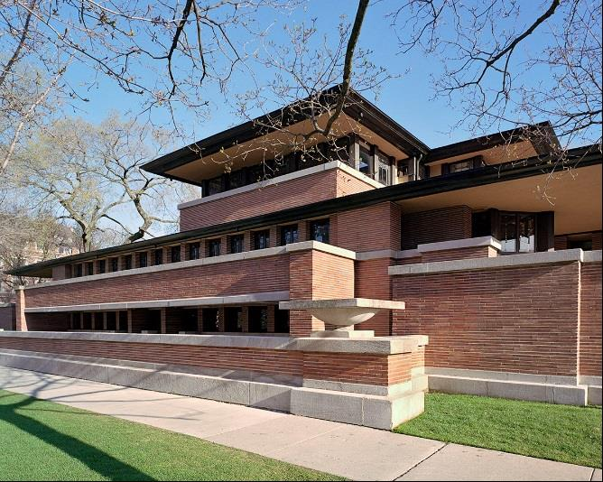 Frank Lloyd Wright Robie House Getty Foundation grants