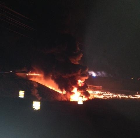 I-65 bridge explosion