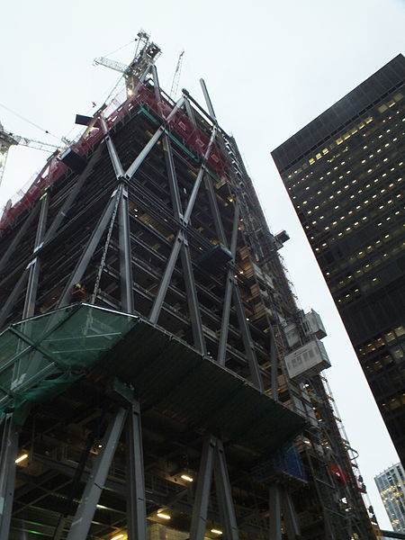 construction of Leadenhall building