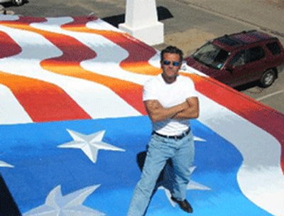 Flag painter