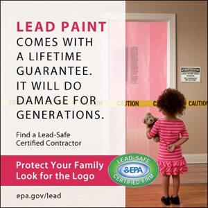 Lead Paint Logo