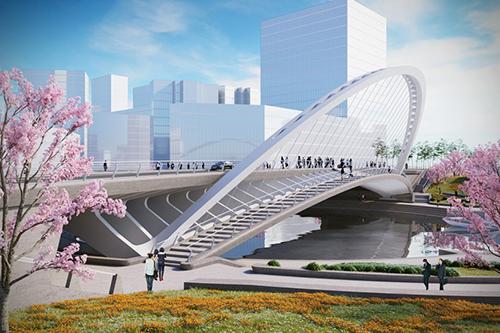 XihuBridge / Santiago Calatrava LLC