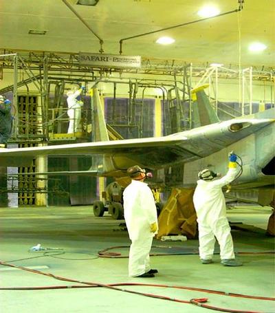 Aircraft Painting - OSHA