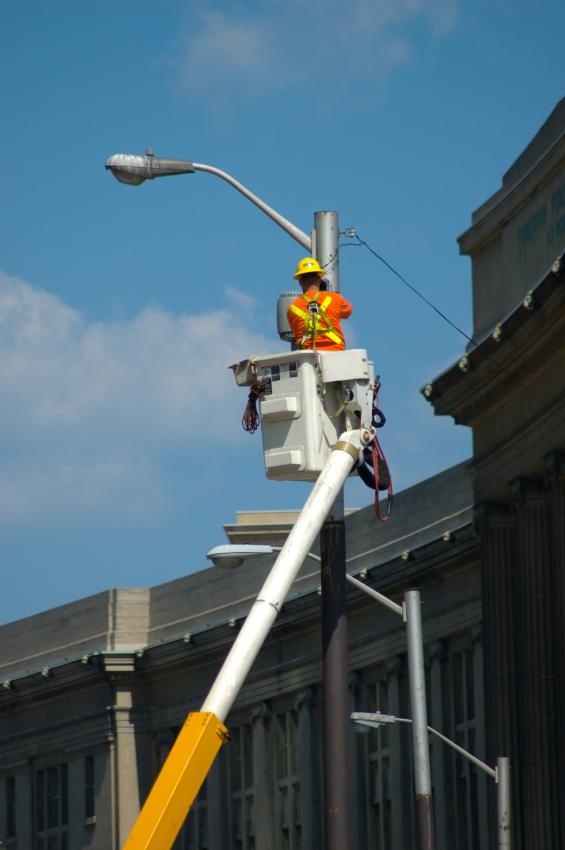 light pole corrosion