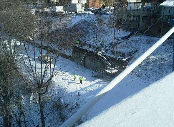 WVDOT bridge repairs