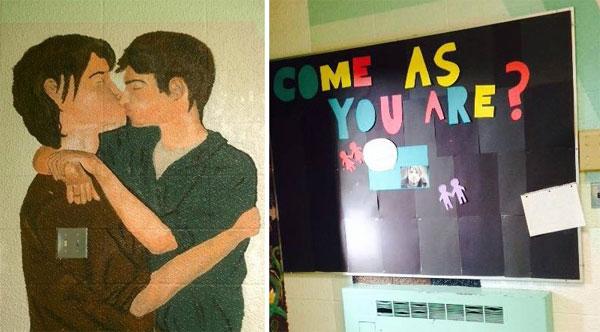 artwork in school
