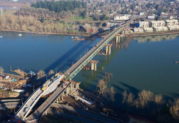 Willamette River bridges
