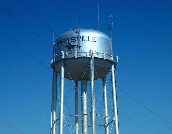 Marysville, KS water tower