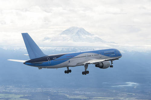 Boeing ecoDemonstrator 757
