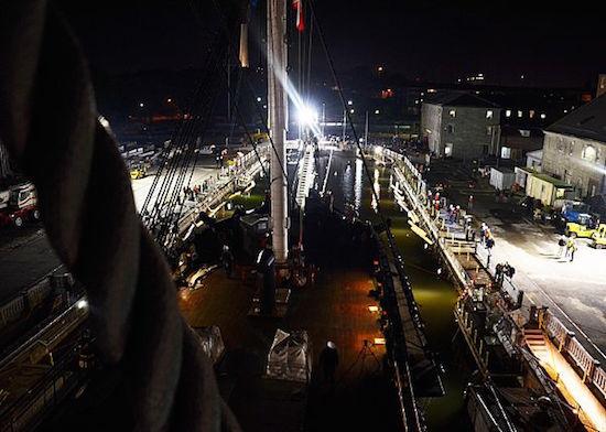 USS Constitution restoration