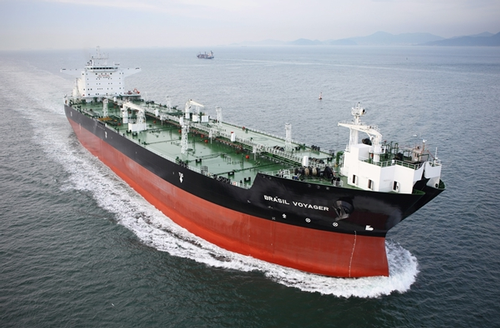 A 150,000DWT shuttle tanker built by Samsung Heavy Industries