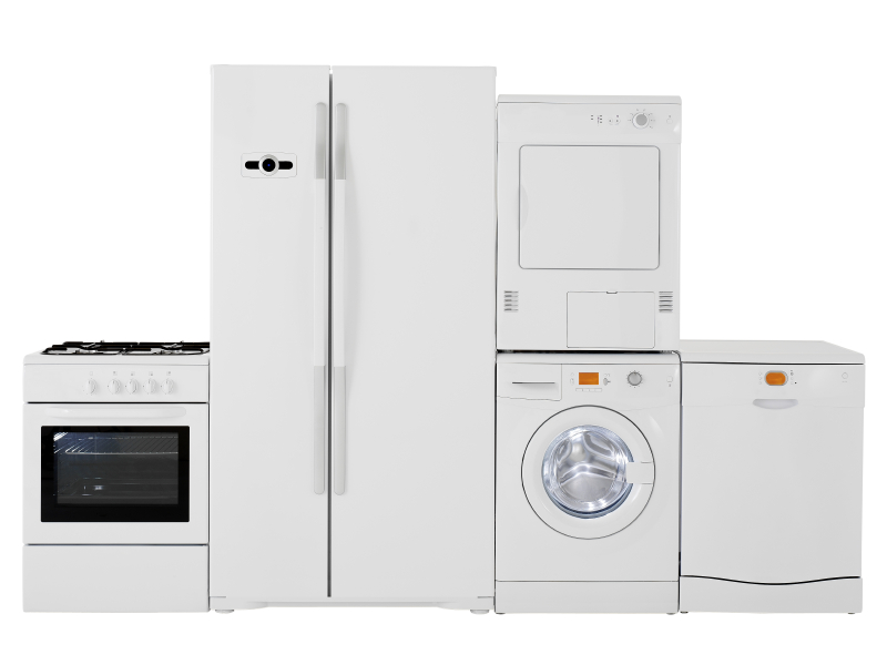 white appliances