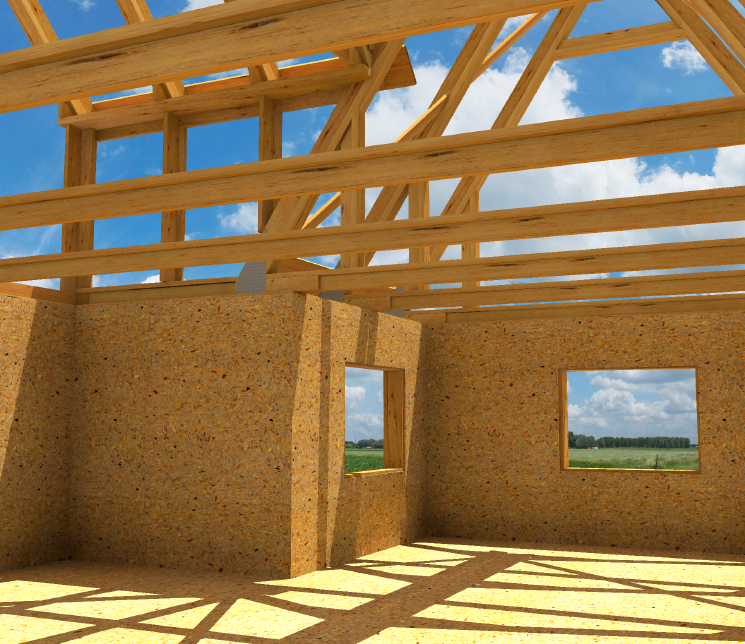 home building frame