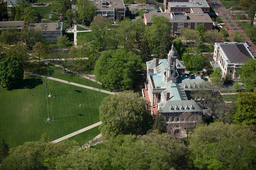 Old Main, Penn State campus