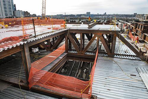 Hudson Yards redevelopment site