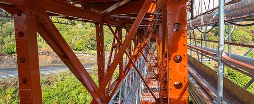 Makatote bridge repainting