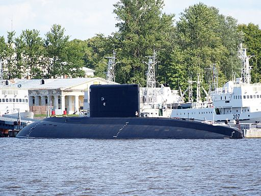 Russian sub, Port of Kronstadt