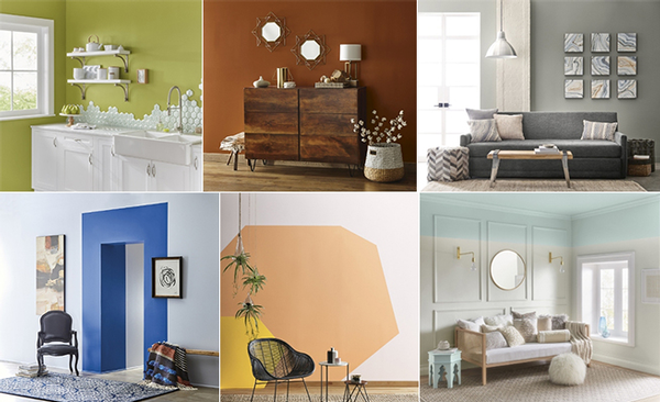 Valspar colors of the year, 1-6