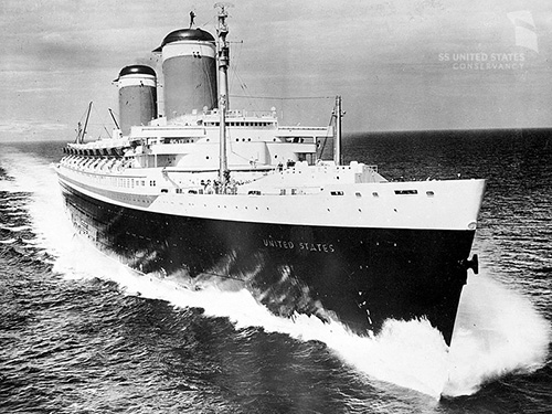 Photo courtesy of Bill DiBenedetto and the SS United States Conservancy