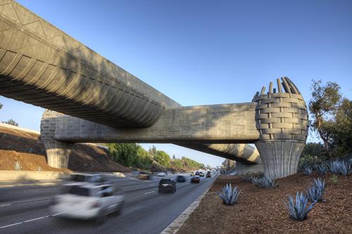 Gold Line Bridge, LA