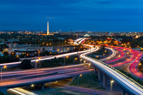 Highway structures, Washington DC