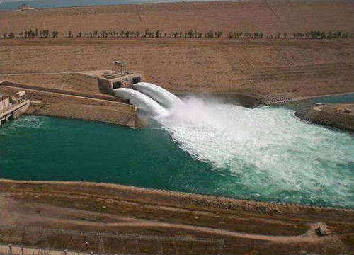 Mosul Dam Outlet