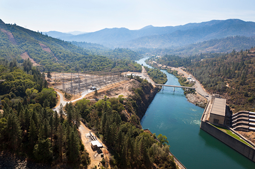Shasta Lake Reservoir