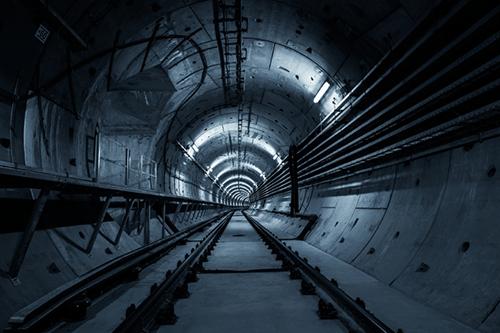 transit tunnel