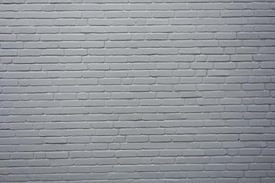 gray painted brick