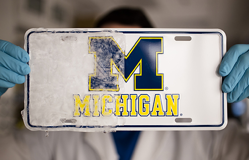 U-M icephobic coating demo