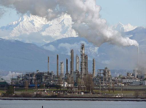 Tesoro refinery Anacortes, WA