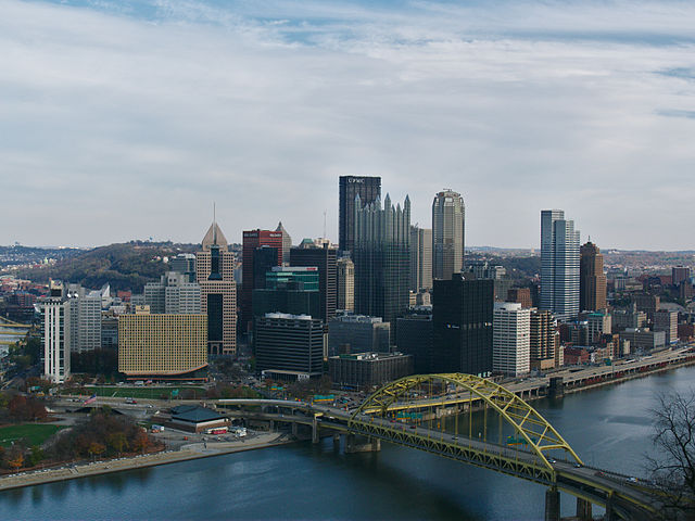 Pittsburgh, headquarters of PPG