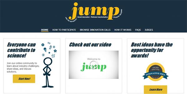 Energy department website JUMP