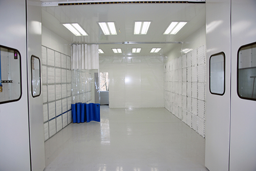CQTI spray booth