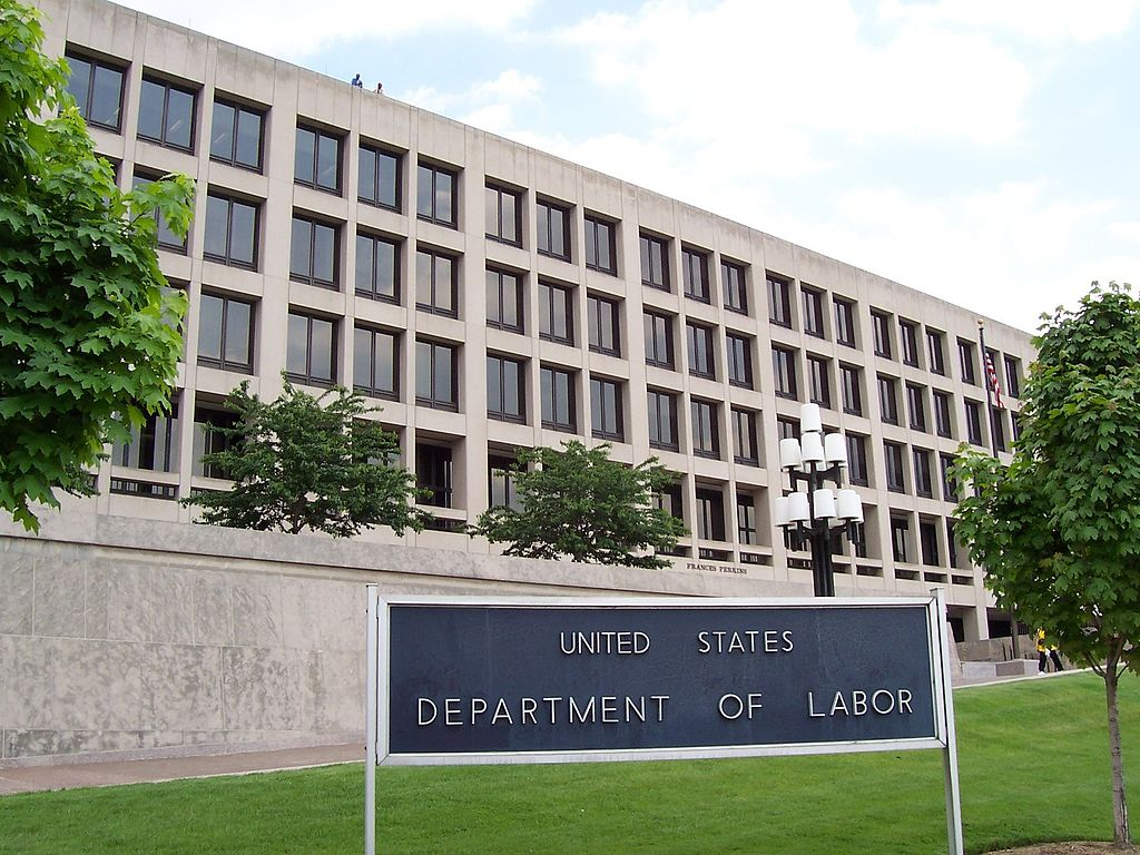 U.S. Dept of Labor