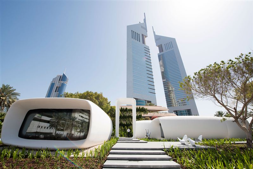 Dubai's 3-D printed office building
