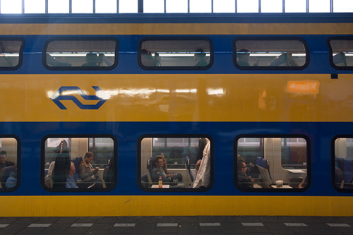 Dutch passenger train