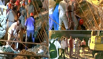 7 Killed in Wall Collapse