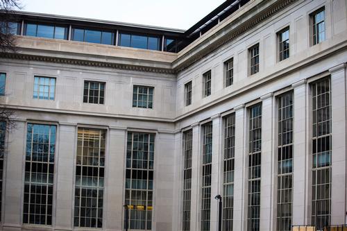 Windows on MIT Building 2