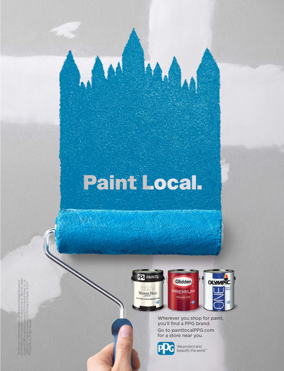 PPG Paint Local campaign