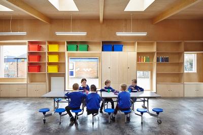 Inside The Little Hall school