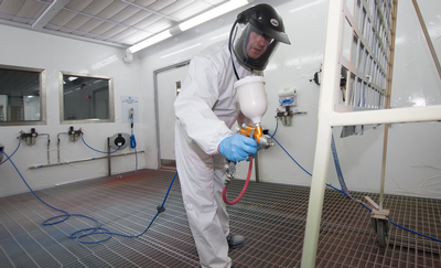 aerospace coating facility