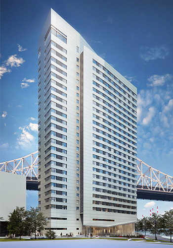 Cornell Residential Tower rendering