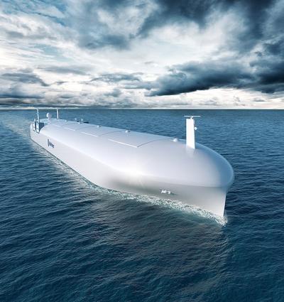 Rolls Royce autonomous ship concept