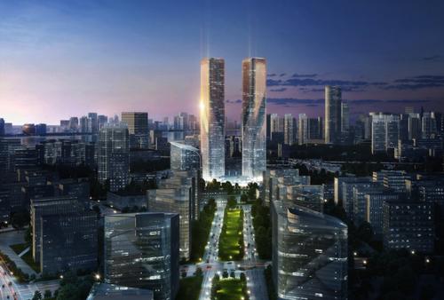 Zhejiang Gate rendering