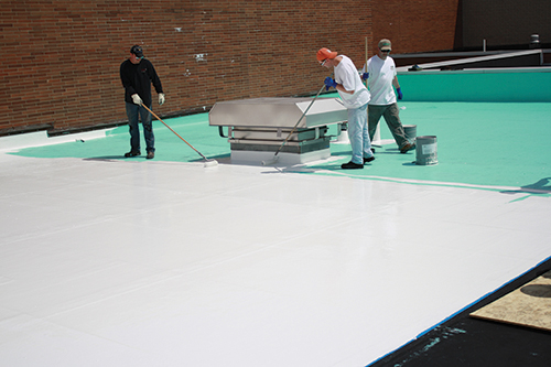 RPM roof coating