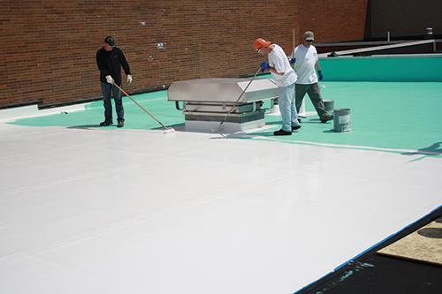 RPM roof coating