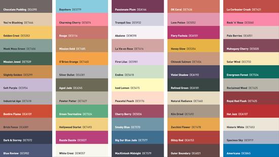 Dunn-Edwards Palettes